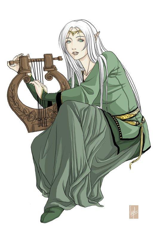 l'Elfe et la harpe