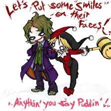 Joker and Harley quinn<3